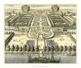 Formal Garden View IV Giclée-Druck von Erich Dahlbergh