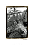 Fishing Trawler- Cape May Premium Giclee Print by Laura Denardo