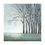 Tree in Winter Premium Giclee Print by Christina Long