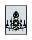 Ornate Chandelier IV Premium Giclee Print by Ethan Harper