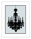 Ornate Chandelier I Premium Giclee Print by Ethan Harper