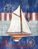 Maritime Boat II Prints by Paul Brent