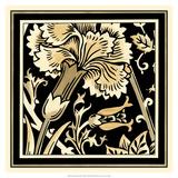 Neutral Floral Motif I Posters