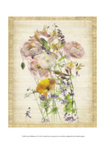 Linen Wildflowers VI Posters by Harold Davis