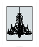 Ornate Chandelier II Premium Giclee Print by Ethan Harper