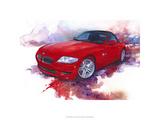 '06 BMW Z4 Premium Giclee Print by Bruce White