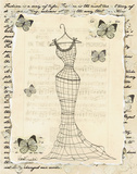 Wire Dress I Print by Katie Guinn
