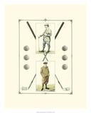 Golfers: John Henry & R. Maxwell Giclée-tryk af Spy (Leslie M. Ward)