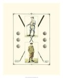 Golfers: John Henry &amp; R. Maxwell Prints by Spy (Leslie M. Ward) 