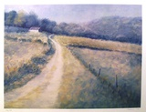 Untitled (Farm Lane) Collectable Print by David Cain