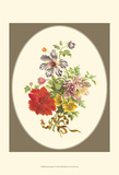 Antique Bouquet IV Prints by Sydenham Teast Edwards
