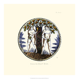 English Delft Dish Giclee Print by  Solon