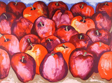 Fall Apples Reproduction pour collectionneurs par Richard C. Karwoski