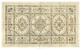 Ornamental Ceiling Design Poster