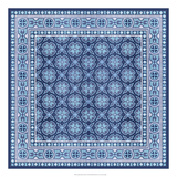 Italian Mosaic in Blue I Giclee Print by  Vision Studio