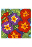 Flower Fiesta I Posters by Sharon Chandler