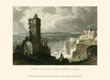 Caldy Island, from Tenby Castle Posters par T. Allom