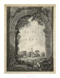 Ruines de Rome Giclee Print