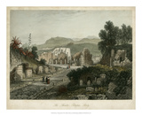 Theatre- Pompeii, Italy Giclee Print by  Wolfensberger