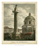 Column of Trajan Print by Merigot 