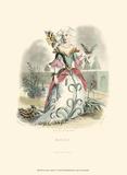 Le Fleur Animé V Prints by J.J. Grandville