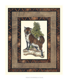 Rustic Fox Giclee Print by  Vision Studio