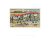 Greetings from Tucumcari Posters