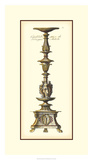 Antique Candlestick I Prints