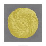 Gilded Rosette I Giclee Print by  Vision Studio