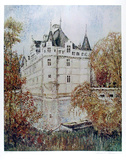 French Castle 2 Collectable Print by William Collier