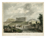 Temple of Theseus- Athens, Greece Giclee Print by  Wolfensberger