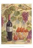 Wine with Pears Affiches par Theresa Kasun