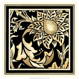 Neutral Floral Motif II Giclee Print by  Vision Studio