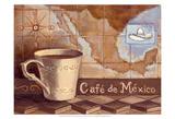 Cafe de Mexico Art par Theresa Kasun