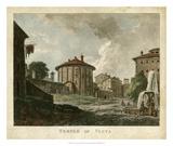 Temple of Vesta Giclee Print by  Merigot