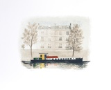 Paris Barge Limited Edition by Mary Faulconer