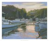 Perkins Cove Poster by Stephen Calcasola