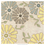 Pastel Pinwheels II Posters par Karen Deans