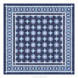 Italian Mosaic in Blue II Prints