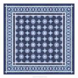 Italian Mosaic in Blue II Giclee Print by  Vision Studio