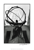 Atlas at Rockefeller Center Poster by Laura Denardo