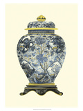 Blue Porcelain Vase II Prints