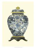 Blue Porcelain Vase II Prints