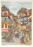 Parisian Morning Collectable Print by Ari Gradus