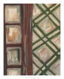 Textured Windows II Poster by Karen Deans