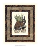 Rustic Rabbit Giclee Print