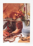 Cowboy Boot Collectable Print by Harvey Edwards