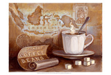 Finest Coffee Beans Posters by Theresa Kasun