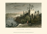Chepstow Castle Print by T. Allom