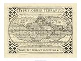 Vintage Maps II Giclee Print